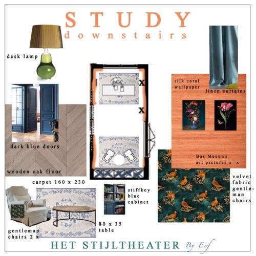 Studeerkamer beneden 25-9
